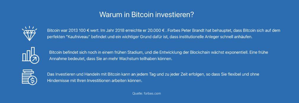 1k Daily Profit warum in bitcoin investieren?