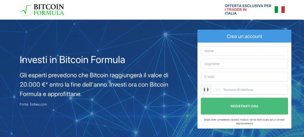 Bitcoin Formula Truffa