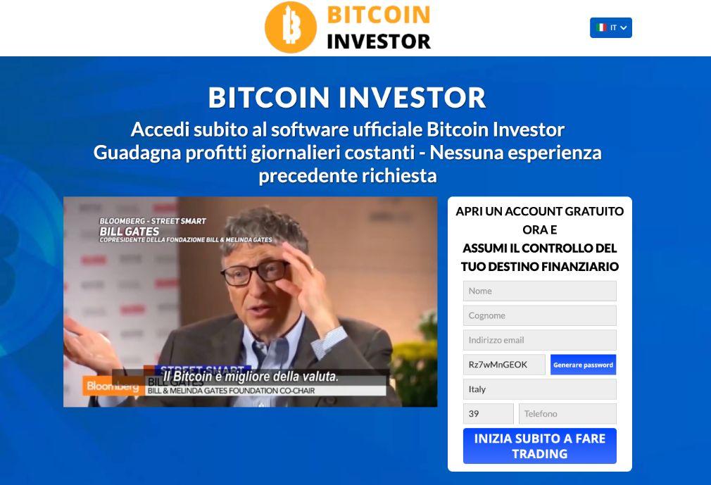 Bitcoin Investor Truffa