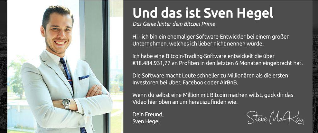 Bitcoin Prime Gründer
