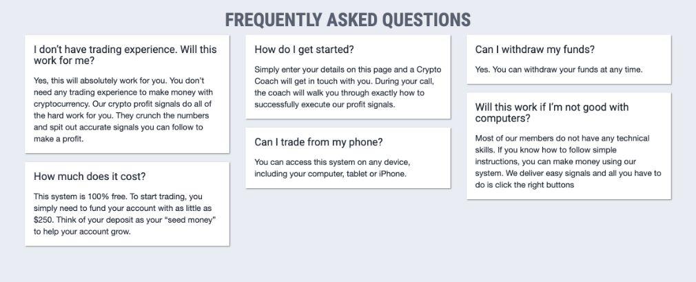 Crypto Nation Pro häufig gestellte Fragen