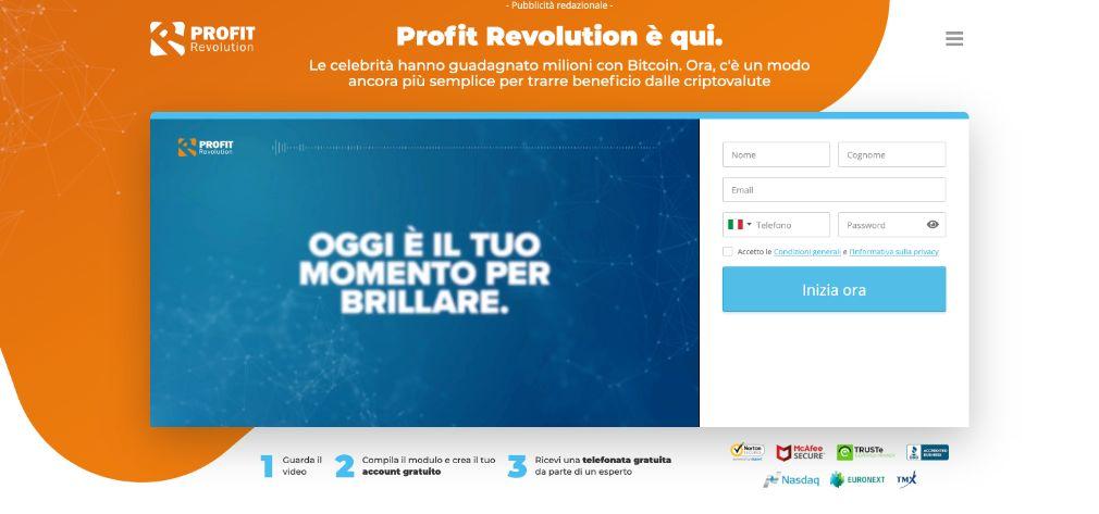 Profit Revolution Truffa